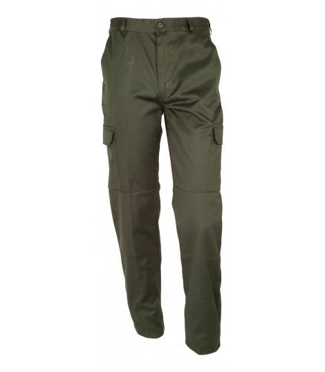 Pantalon basic polycoton kaki ou noir sécurité luxembourg
