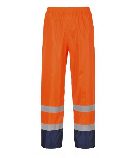 Pantalon de pluie Hi-Vis bicolore
