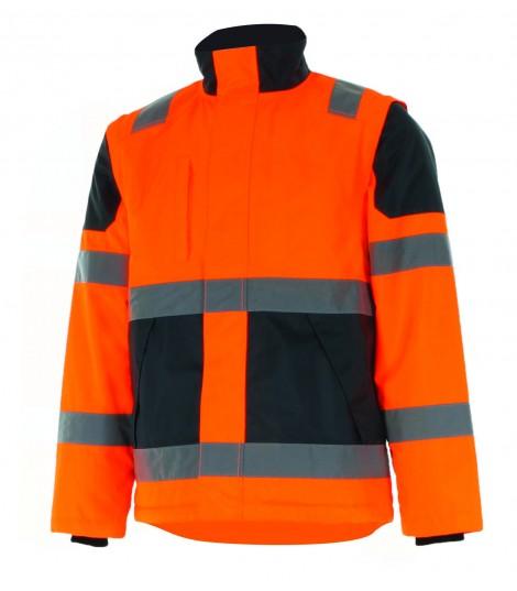 Blouson EKINOX haute visibilité orange