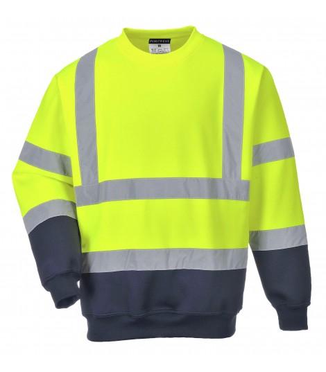 Sweatshirt bicolore Hi-Vis