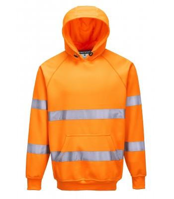 Sweatshirt haute Visibilité à capuche