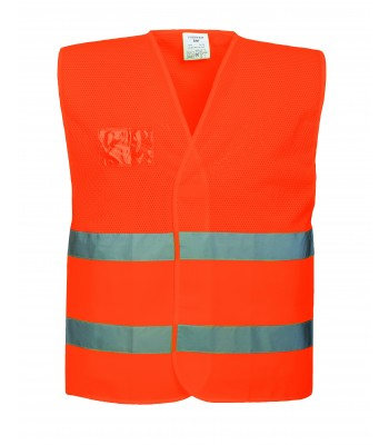 Gilet HV semi-grillagé