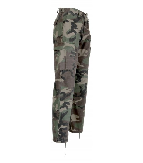 Pantalon BDU ripstop camouflage
