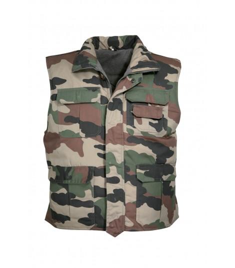 Gilet rangers camouflage