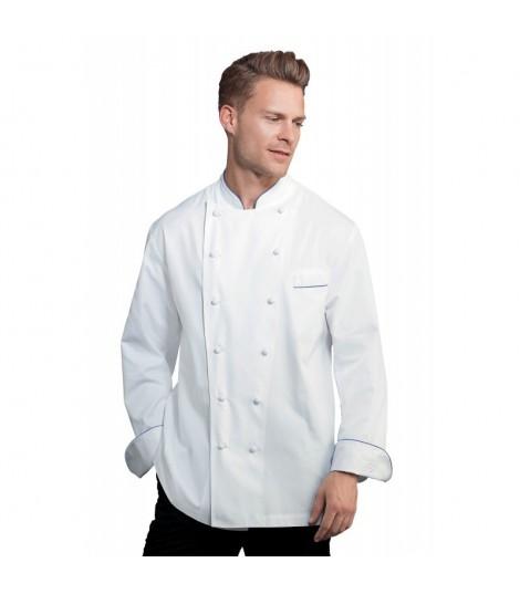 Veste de cuisine PERIGORD homme blanc