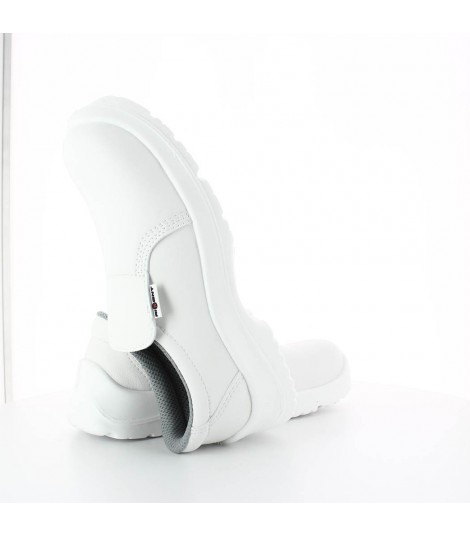 Chaussures agroalimentaire blanches DAHLIA S2 SRC cuisine boucher