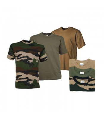 Pack 3 Tee shirt Militaire