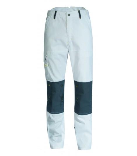 Pantalon de peintre Craft Paint Blanc/ Gris Convoy