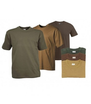 Pack 3 Tee shirt Uni Militaire