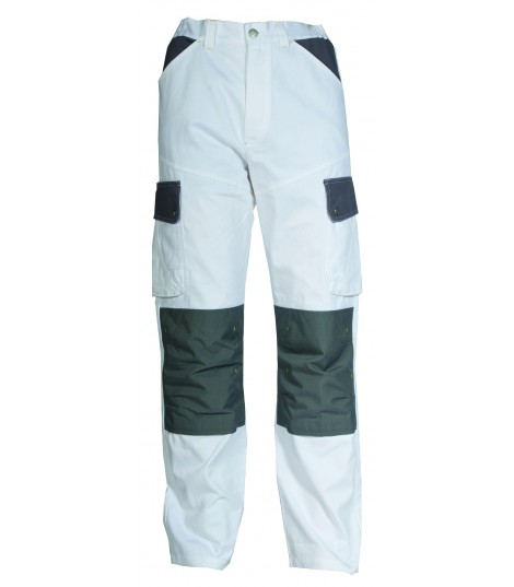 Pantalon Craft Peintre 2 Blanc/ Gris Convoy