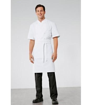 Carpath tablier de cuisine blanc 60x80 cm haut de gamme top chef bragard