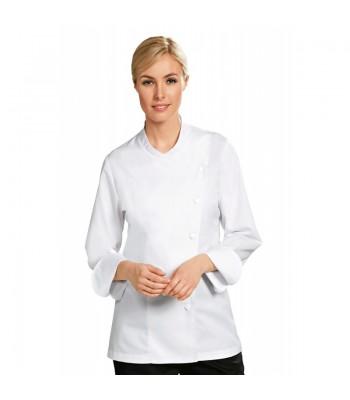 Veste de cuisine femme (manches longues) JULIA