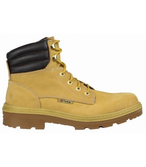e9fc40ec3cd4b8 Chaussure de sécurité haut kaibab bis s3 src beige jaune
