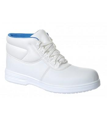 Chaussure de sécurité Brodequin Albus à lacet blanc S2