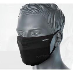 Masque facial en tissu antimicrobien 3 plis