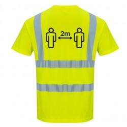 T-shirt HV Distanciation Sociale