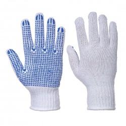Gant Classique Tricoté Picots PVC