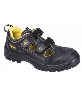 Chaussure de sécurité Sandale composite ESD S1P