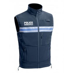 Gilet softshell police municipale