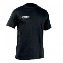 Tee-shirt SECU-ONE SECURITE 100% coton