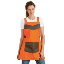 Chasuble IBATE femme boulangerie orange