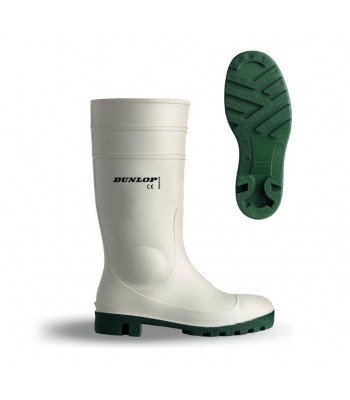 BOTTE de sécurité dunlop PROTOMASTOR SAFETY FOOD blanche s5