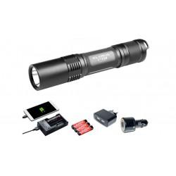 Lampe tactique rechargeable XT2C LED- 1100 LUMENS