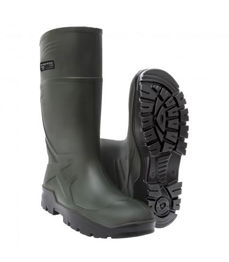 Chaussure de sécurité Bottes PU Wellington sans sécurité 04 CI FO