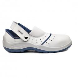chaussure de sécurité Bario sandale blanche