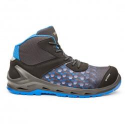 chaussure de sécurité haute i-Robox Blue Top noir et bleu