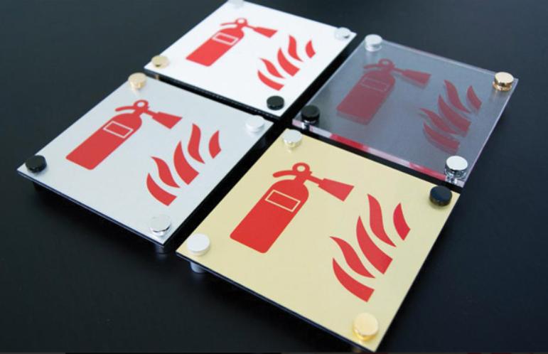 Plaque de signalisation design